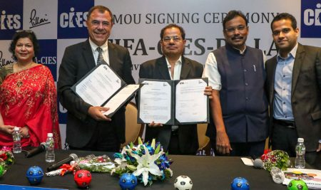 CIES signs new academic partnership in India