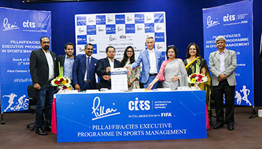 Inaugural Ceremony of the First Edition of the PILLAI/FIFA/CIES Executive Programme