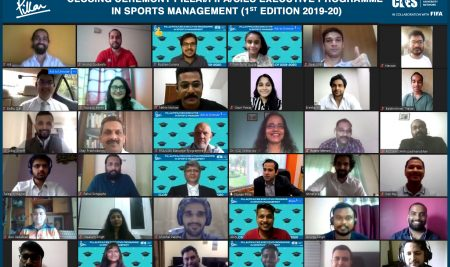 Closing Ceremony of the First Edition of the PILLAI/FIFA/CIES Executive Programme