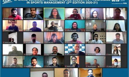 Opening Ceremony 2nd Edition PILLAI/FIFA/CIES Executive Programme in Sports Management